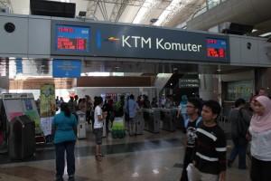 Куала-Лумпур. Электричка KTM Komuter.