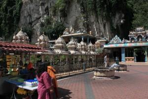 Куала-Лумпур. Еще один храм перед пещерами Бату.