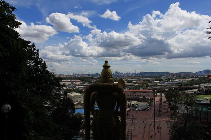 Куала-Лумпур. Пещеры Бату. Панорама.