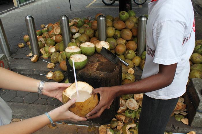 Куала-Лумпур. Пещеры Бату. Кокосовое молоко.