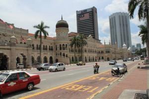 Куала-Лумпур. Площадь Независимости Датаран Мердека.