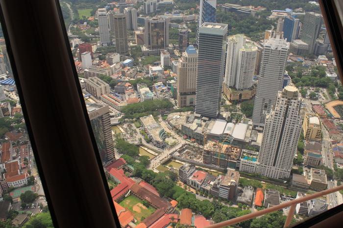 Куала-Лумпур. Вид с телевышки Менара.