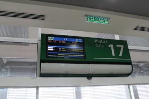 Куала-Лумпур. В зале ожидания автовокзала Terminal Bersepadu Selatan.