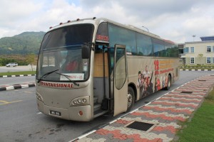 Малайзия. Автобус Куала-Лумпур - Мерсинг.
