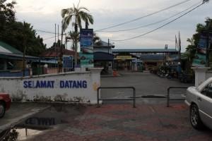 Малайзия. Причал паромной переправы Мерсинг-Тиоман.