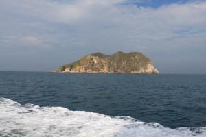 Малайзия. Необитаемый остров по дороге на Тиоман.