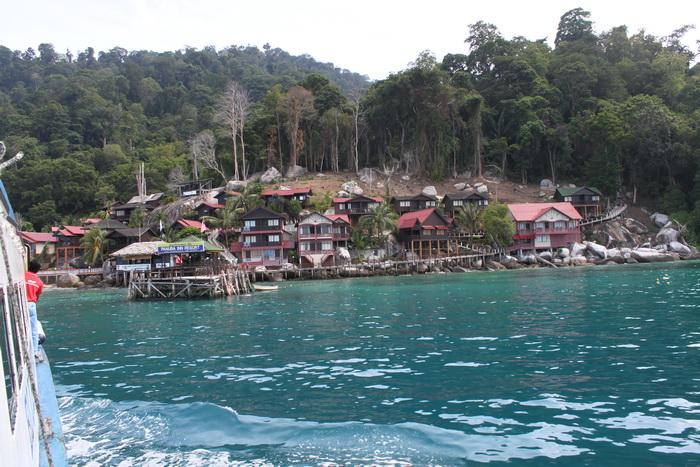 Малайзия. Деревни острова Тиоман.