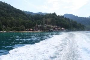 Малайзия. Остров Тиоман. По дороге в Саланг.
