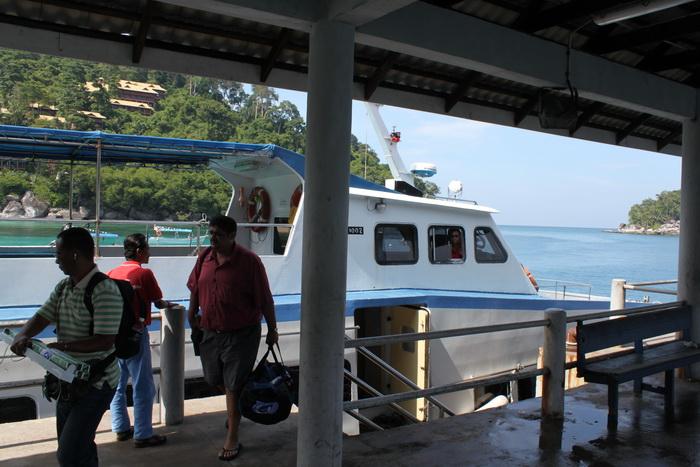 Малайзия. Остров Тиоман. Пристань.