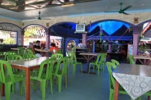 Малайзия. Остров Тиоман. Кафе.