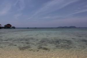Малайзия. Остров Тиоман. Горизонт.