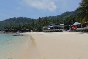 Малайзия. Остров Тиоман. Южный пляж.