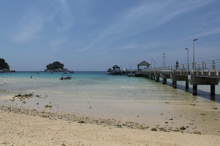 Малайзия. Остров Тиоман. Начинается прилив.