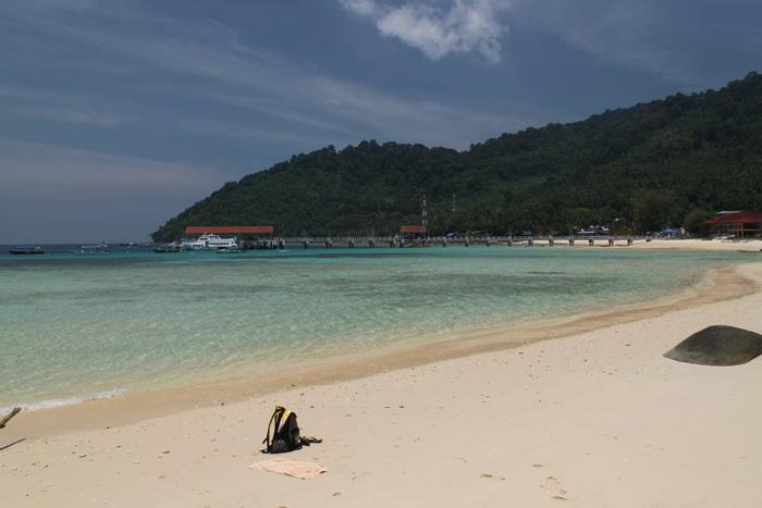 Малайзия. Остров Тиоман. Пляж.