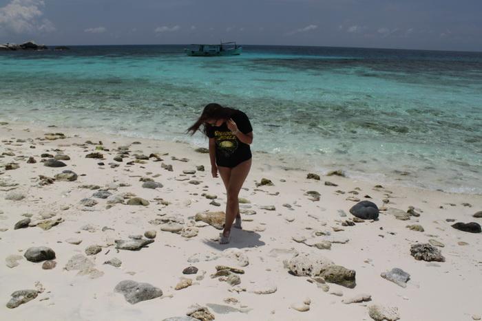 Малайзия. Тиоман. Белоснежный песок и лазурное море.