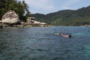 Малайзия. Тиоман. Снорклинг на Soyak Island.