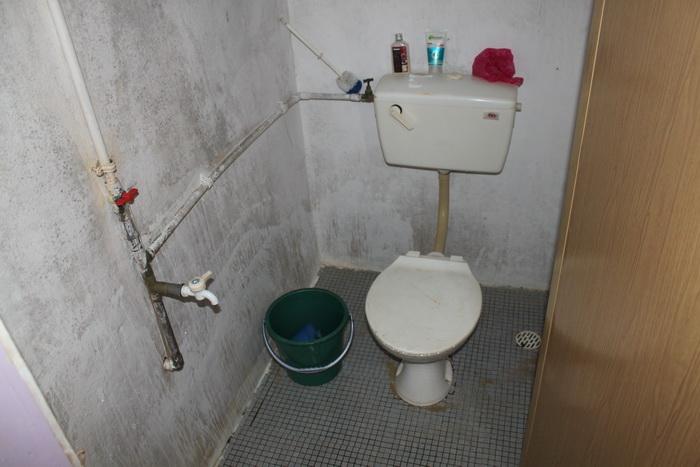 Малайзия. Остров Тиоман. Туалет в бунгало.