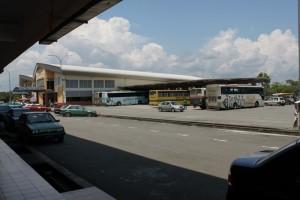 Малайзия. Автовокзал в Мерсинге.