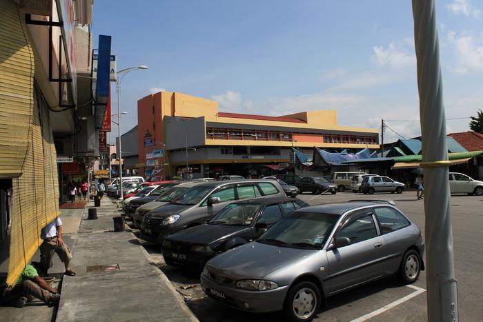 Порт Диксон. Автобусный терминал.