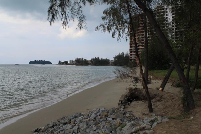 Порт Диксон. Пляж.