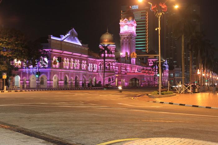 Куала-Лумпур. Площадь независимости.