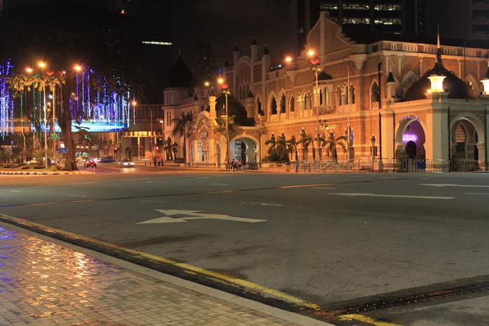 Куала-Лумпур. Площадь Датаран Мердека.