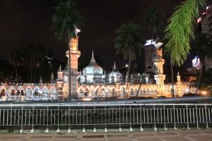 Куала-Лумпур. Мечеть Масжид Джамек.
