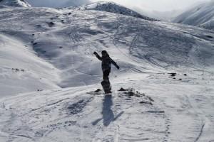 Кыргызстан. Склоны на базе Тогуз-Булак.