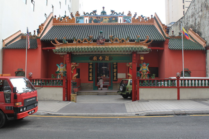 Куала-Лумпур. Храм даосов Guan Di.