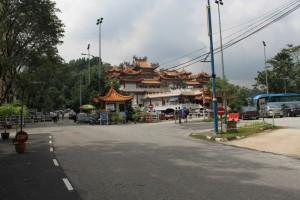 Куала-Лумпур. Буддистский храм Thean Hou.