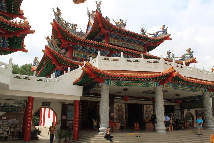 Куала-Лумпур. Храм Thean Hou.