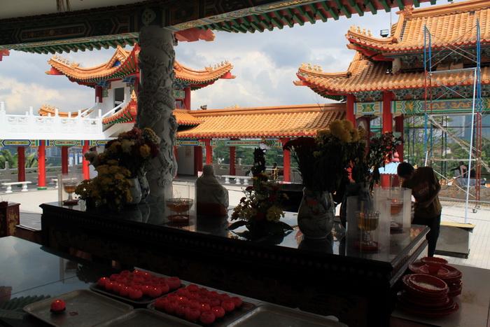 Куала-Лумпур. Пагоды храма Thean Hou.