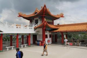 Куала-Лумпур. Китайские башни храма Thean Hou.