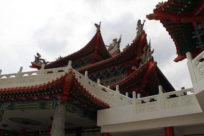 Куала-Лумпур. Традиционная пагода Thean Hou.