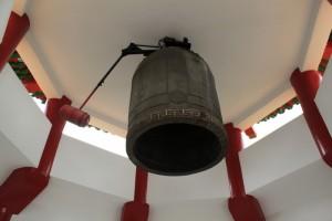 Куала-Лумпур. Колокол в одной из башен храма Thean Hou.