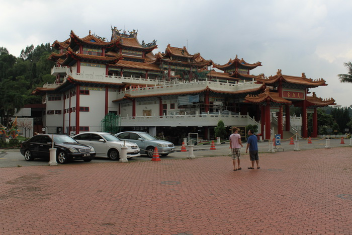 Куала-Лумпур. Китайский храм Thean Hou.