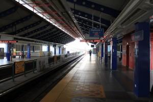 Куала-Лумпур. Станция метро Bangsar.