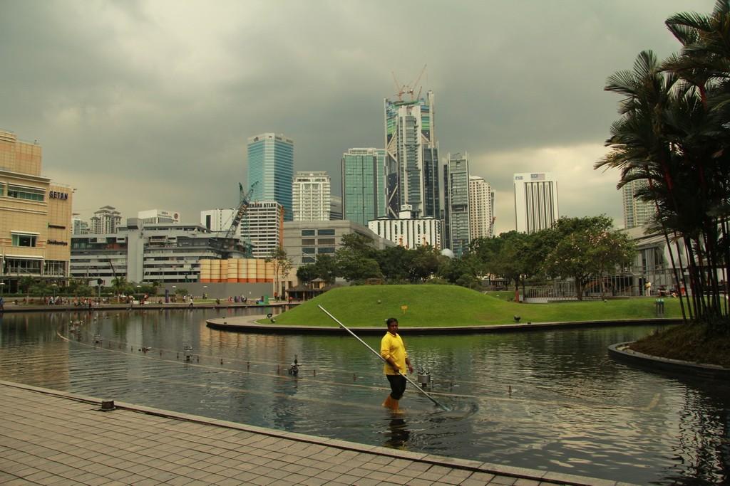 Куала-Лумпур. Небоскребы.