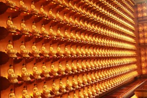 Куала-Лумпур. Будды в храме Kun Yam Thong.