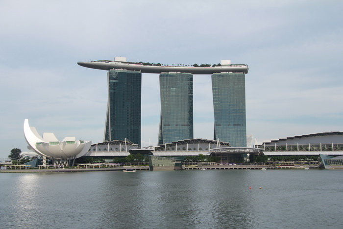 Сингапур. Марина Бэй.