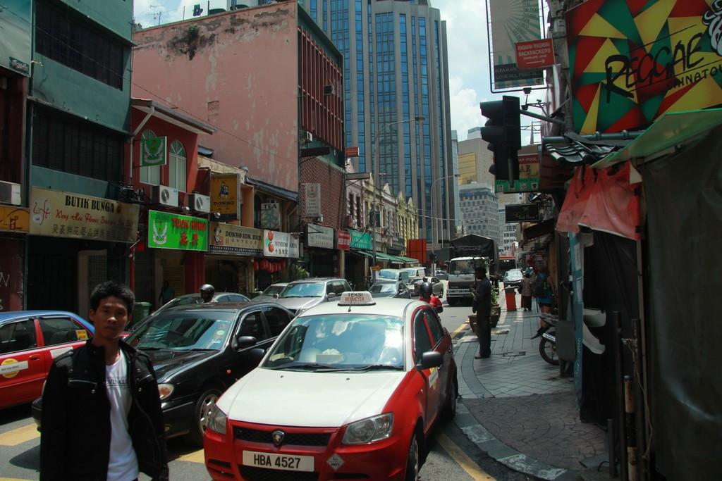 Куала-Лумпур. Улочки ЧайнаТауна.