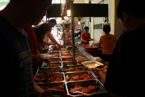 Куала-Лумпур. Где поесть в ЧайнаТауне.