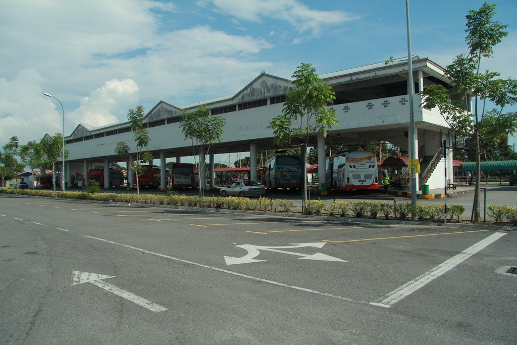 Куала-Селангор. Автовокзал.