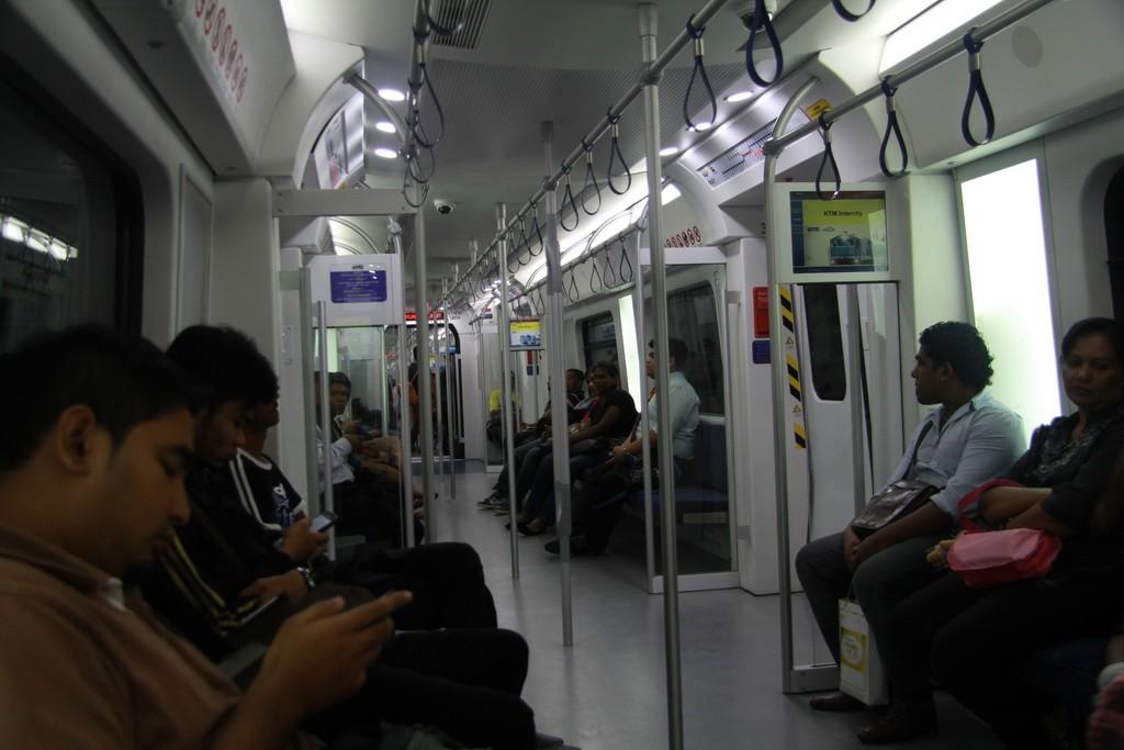 Куала-Лумпур. Поезд KTM.