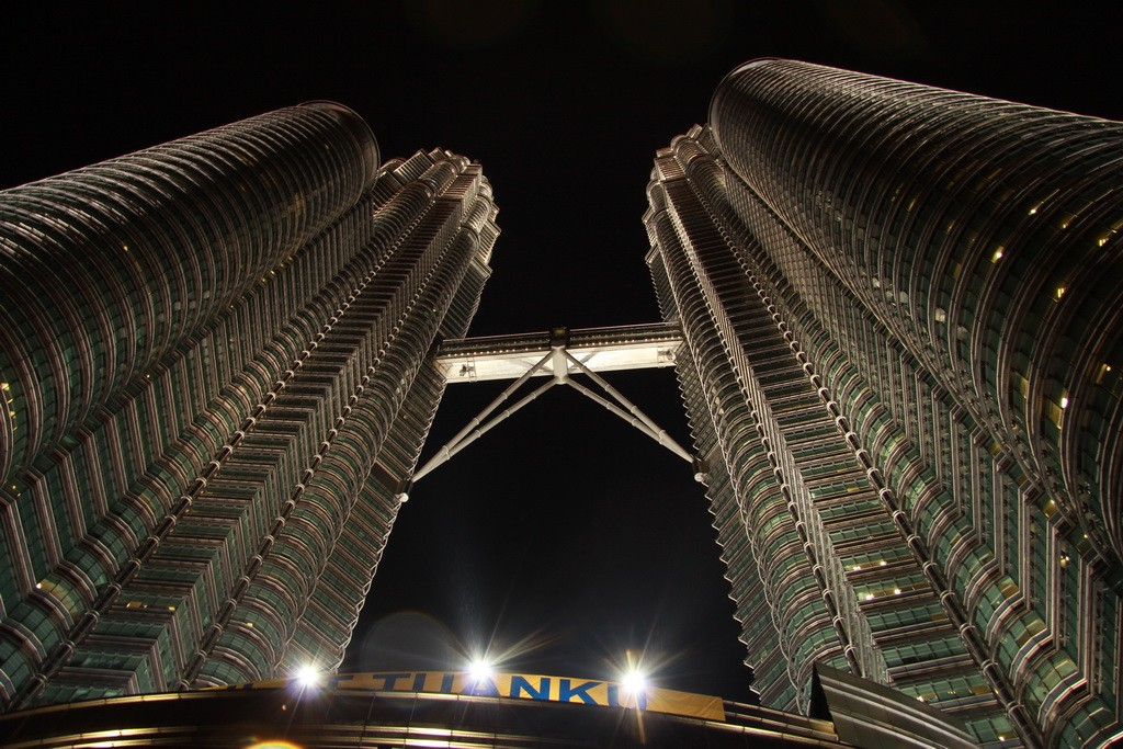 Куала-Лумпур. Башни Петронас.