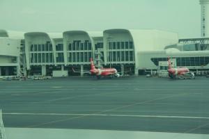 Куала-Лумпур. Аэропорт KLIA2. AirAsia.