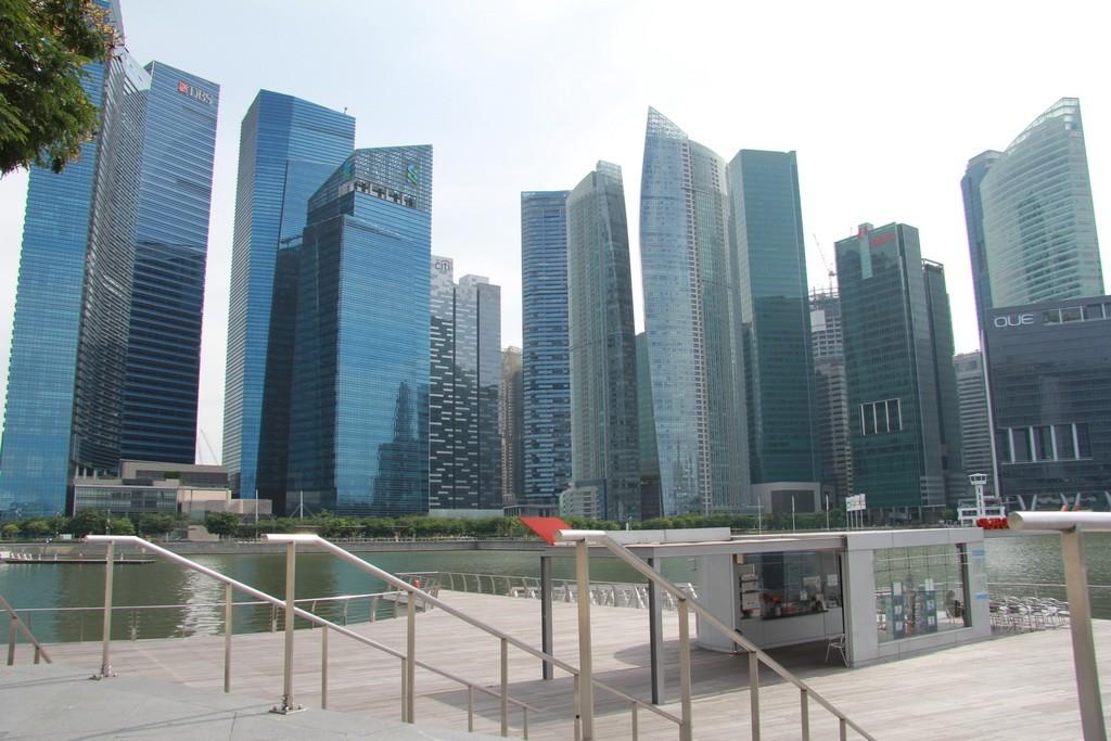 Сингапур. Небоскребы Марина Бэй.