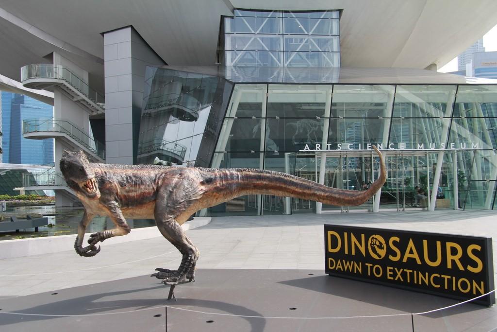 Сингапур. Музей науки и искусства.