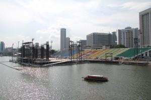 Сингапур. Стадион на воде.