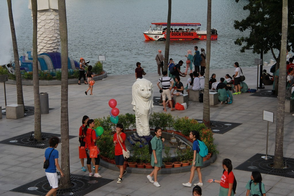 Сингапур. Парк Мерлиона.